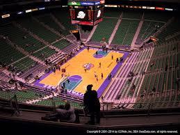 Vivint Smart Home Arena View From Upper Level 119 Vivid Seats