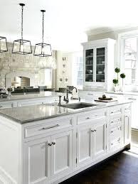 Modern White Kitchen Cabinets And Backsplash Design Ideas Ikea