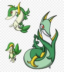 Snivy Evolution Chart Green Grass Background Png Download 807 989 Free