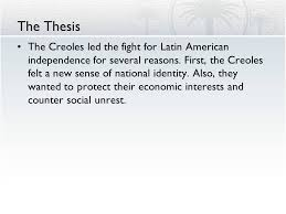 latin american independence ppt  6 the