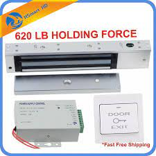 620LB kiti elektrikli kapı kilidi mıknatıs elektromıknatıs manyetik erişim  kontrolü sistemi Video interkom kapı zili kapı en İyi kapı  kilidi system