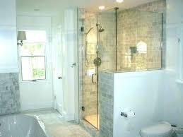 bathroom glass shower