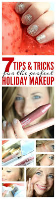 top 7 holiday makeup tips and tricks for and new years easy and simple