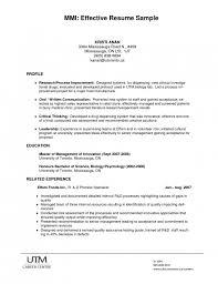 well written resume