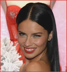 prom hairstyles for long brown hair adriana lima makeup red lips mugeek vidalondon