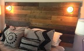 headboard lighting. how to make a headboard from recycled wood_7 lighting