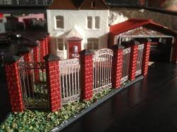 brick and wrought iron fence designs 3d modelsthingiverse
