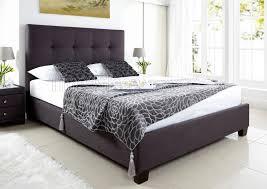 Ottoman Bedroom Kaydian Walkworth Ottoman Storage Bed Slate Fabric Super King