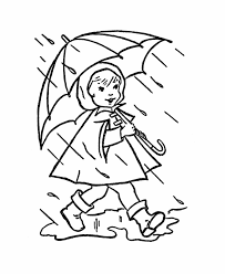 Small Picture Rain Coloring Page Coloring Pages For Kids And For Adults