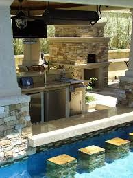 backyard pool bar. Backyard Swimming Pool W/ Water Bar