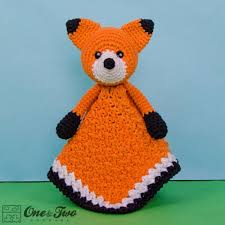 Crochet Fox Pattern Enchanting Flynn The Fox Security Blanket Crochet Pattern