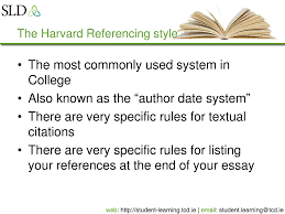 Ppt Citing And Referencing Academic Sources Powerpoint