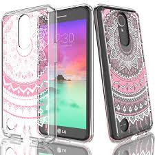 LG K20 Plus Case,LG K20V Case For Girls,Tekcoo [TFlower] Transparent Cute Lovely Adorable Ultra