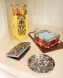 decorative office supplies. diy damask office accessories decorative supplies p