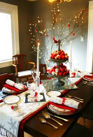 Home Design:Fabulous Christmas Dining Room Table Decorations Trend 16 In  Best Tables With Home