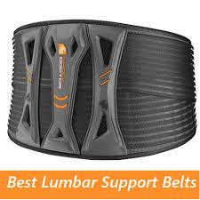 Best Lumbar Support Belts Back Knee Pain Com