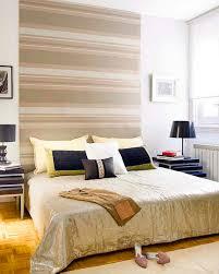 Cool bedroom ideas - headboard wall decor - Stripes