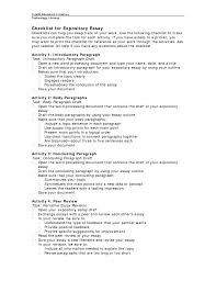 expository essay format expository essay template word view larger