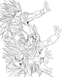 Dragon Ball Super Coloring Pages At Getdrawingscom Free For