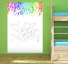 paint drops whiteboard sticker