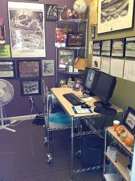 chrome wire shelving office