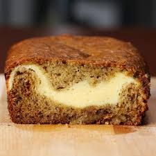 Cheesecake Filled Banana Bread Recipe By Tasty