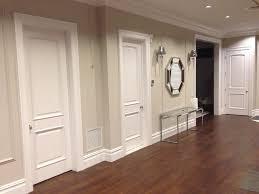 modern white interior door. 3 Panel Interior Door Arch Modern White