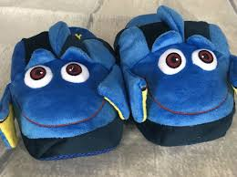 Finding Dory Stompeez Slippers New In Box Size Medium Large 3 5 7 Childs