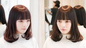 ミディアムヘアアレンジ巻き髪内巻き作り方 Youtube