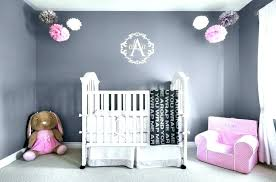 gray and pink nursery decor grey ideas chevron theme baby shower