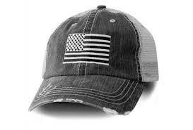 Honor Country <b>USA</b> American <b>Flag Baseball Cap</b> Black at Amazon ...