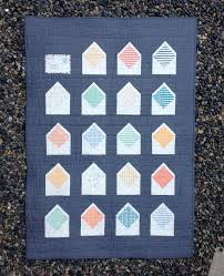 Envelope quilt with solid navy background. One envelope closed ... & Envelope quilt with solid navy background. One envelope closed Adamdwight.com