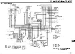 motorcycle wire schematics acirc bareass choppers motorcycle tech pages 02 03 vtx 1800r s schematic