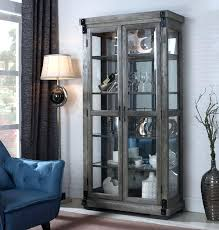 conventional antique oak curved glass china curio cabinet h2296925 curio china cabinet