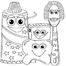 coloring pages brushing teeth coloring page pages of dental health crafts for preschool example pi