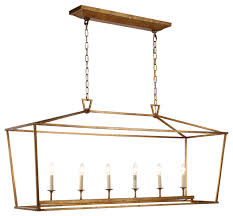 1422 denmark collection pendant lamp 54 x25 5 golden iron transitional pendant lighting by elegant furniture lighting