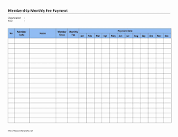 Ledger Template For Excel Bill Ledger Template Monthly Excel Free Pay Payment
