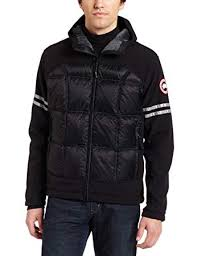 ... best price amazon canada goose hybridge hoody black x small skiing  jackets sports outdoors fc697 fa3bb