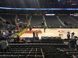 Philips Arena Atlanta Ga Seating Chart State Farm Arena Section 120 Atlanta Hawks Rateyourseats Com