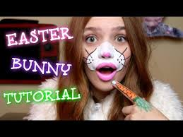 Small Picture EASTER BUNNY FACE PAINT TUTORIAL YouTube