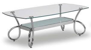 global furniture usa 559 coffee table chrome
