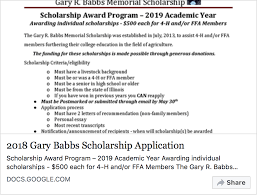 Memorial Program Inspiration 48 Gary R Babbs Memorial Scholarship Due TODAY May 48th The
