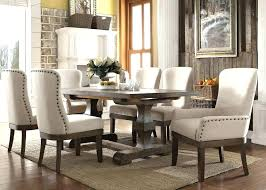 round formal dining table room size fish