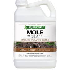liquid fence 2 5 gal concentrate mole repellent