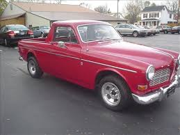 1965 Used Volvo 122 Custom Pickup 2 door truckster at Swedish Motors ...