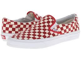 vans red and white. vans classic slip on golden coast red white checker, vans, shoes and