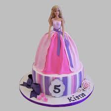 Wishful Barbie Cake 3kg Pineapple Gift Ariel Barbie Birthday Cake