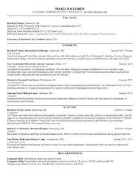 2017 Resume Templates Word Elegant Free Resume Cover Letter Template