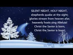 silent night holy night background. Simple Silent Silent Night Holy Acapella Choir Version With Lyrics Most Popular  Christmas Carol Hymn Song Intended Background S