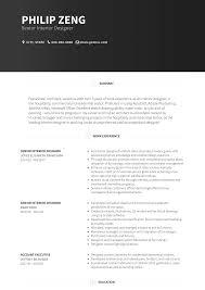 Resume Graphical Cv Template Word Interior Design Resume